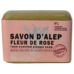 Rose scened Aleppo Soap